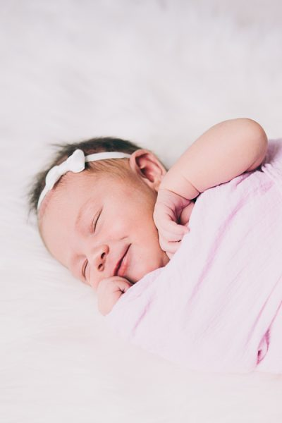 Flowers and Rubies:  Baby Ruby, a Newborn Session