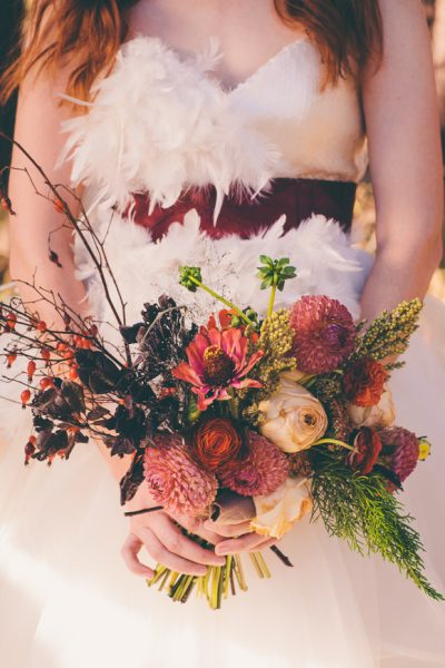 Woodland Wedding Featured on Wedding Chicks